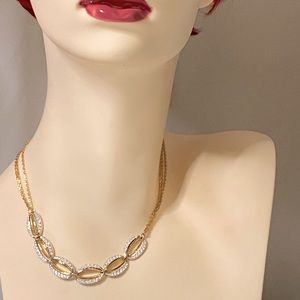 "Rare Vintage Estate Swarovski Necklace 18"""
